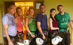 Costa Rica Zipline Crew