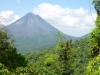 Arenal Volcano in February