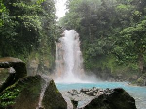 Celeste waterfall | Planning a trip to Costa Rica