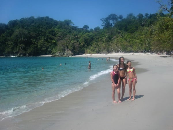Costa Rica Beaches Family