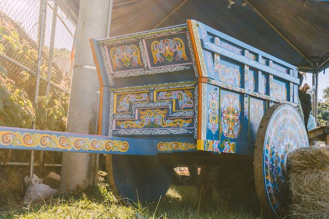 Authentic Ox Cart in Sarchi, Costa Rica