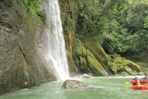 Pacuare River Waterfall