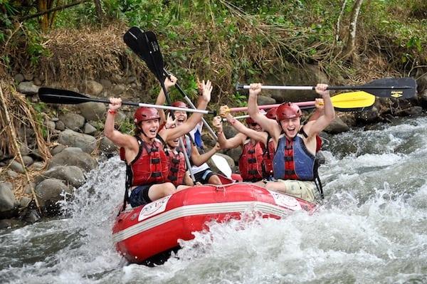 Costa Rica Rafting Adventure Vacation
