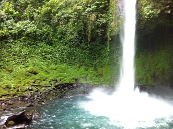 Costa Rica Waterfalls in the Jungle