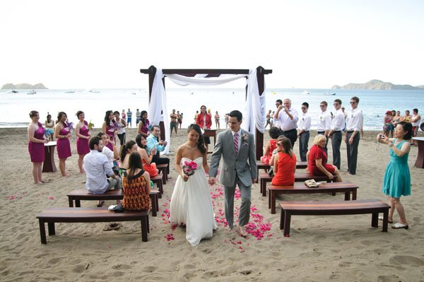 Gorgeous Beach Destination Wedding In Costa Rica