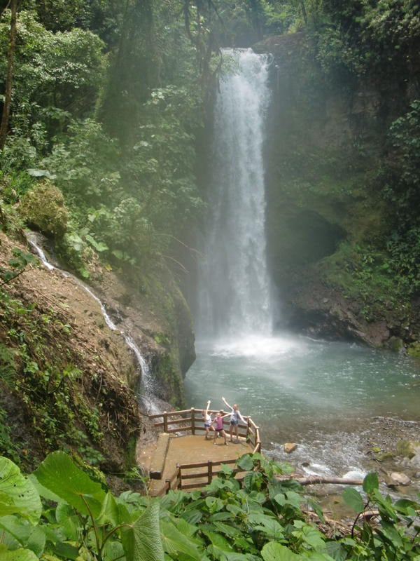 Costa Rica Family Vacation (Days 1-2: Waterfall)
