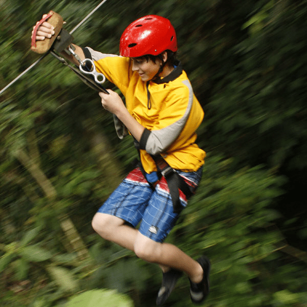 Costa Rica Zip-line Family Activity