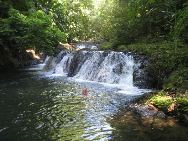 Swimming in Waterfalls & Lagoons on Costa Rica Honeymoons