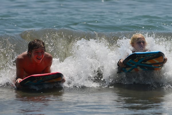 Boogie Boarding in Costa Rica