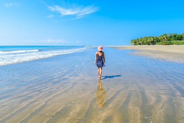Beach in Uvita, Costa Rica