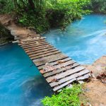 Rio celeste; Tenorio national park Costa Rica