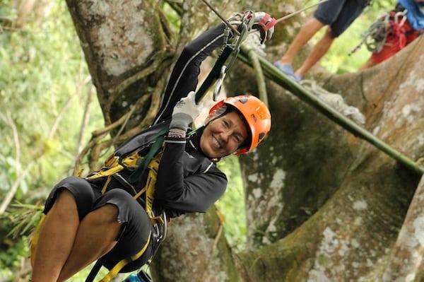 Costa Rica Romantic Adventure - Zipline Canopy Tour