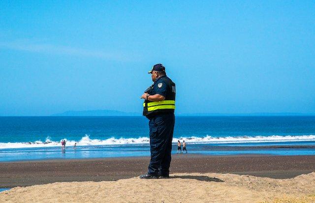 Costa Rica Beach Police