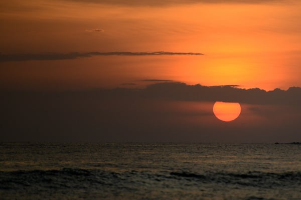 April Sunset in Costa Rica