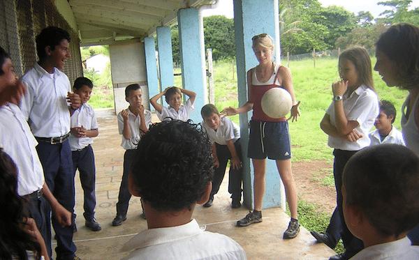 Tico Children at School (Costa Rica Volunteering Vacation)