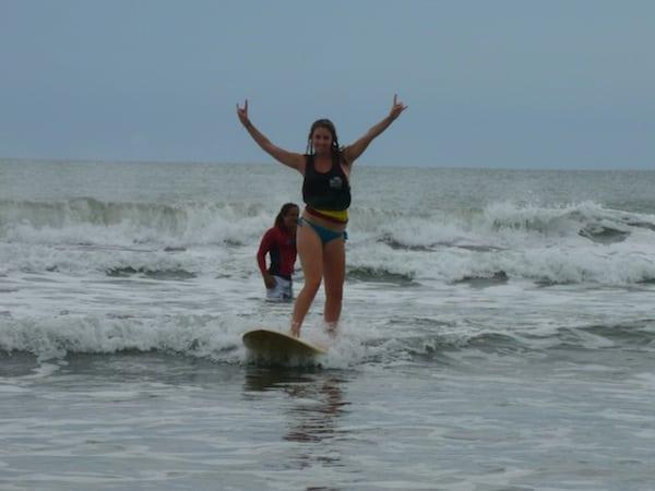 Surfing on a Costa Rica Volunteer Trip