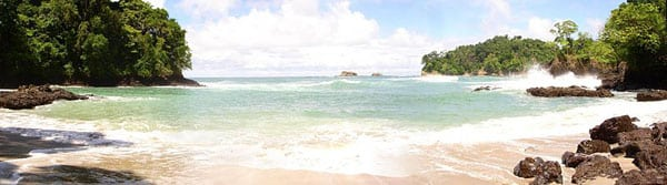 costa rica beach (manuel antonio)
