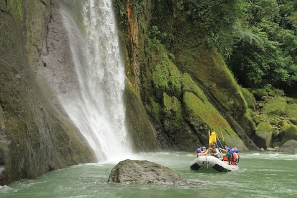 Rafting Trip on the Pacuare River with your Family