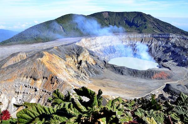 Poas National park (Alajuela Costa Rica)