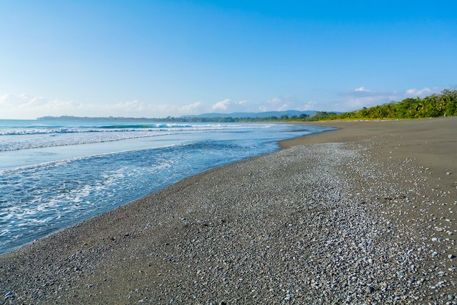 beach in Puerto Jimenez