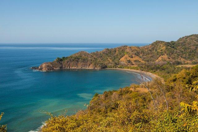 gorgeous beach in punta islita, costa rica
