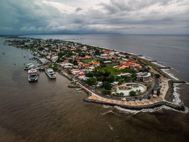 City & Port of Puntarenas, Costa Rica