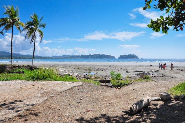 Samara Beach in Nicoya Peninsula, Costa Rica