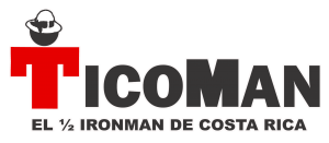 Ticoman Logo: Costa Rica Adventure Race Half-Ironman Triathlon-