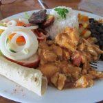 Traditional Costa Rica Food: Casado!