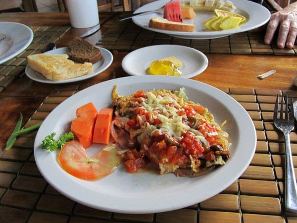 Costa Rican Breakfast Omelette