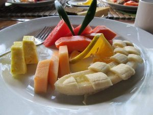 Traditional Costa Rica Fruit Plate